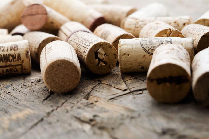 Afsluiters voor wijnflessen