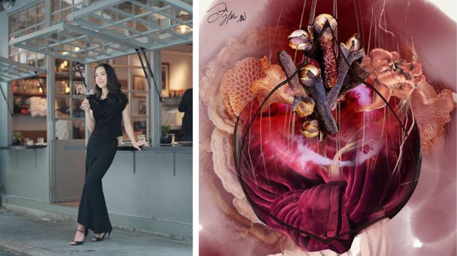 Jongste vrouwelijke Master of Wine tovert proefnotities om tot kunstwerken