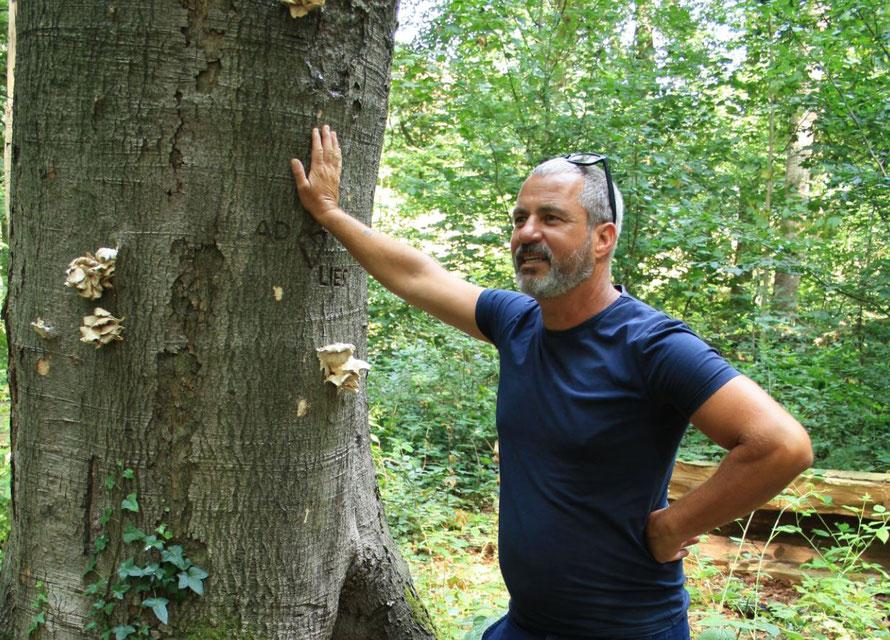 Op pad met wildplukker Edwin Florès