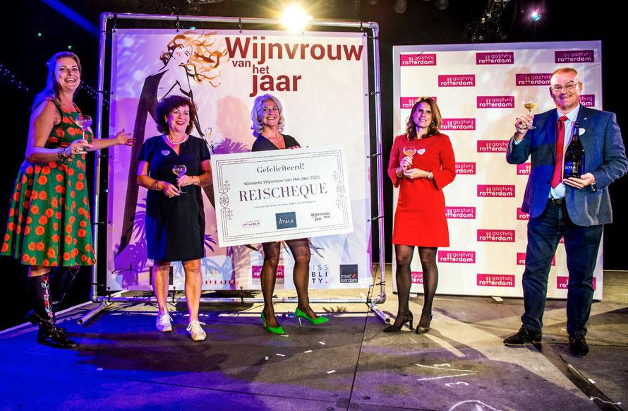 Winelife's Magda van der Rijst is Wijnvrouw van het Jaar 2020