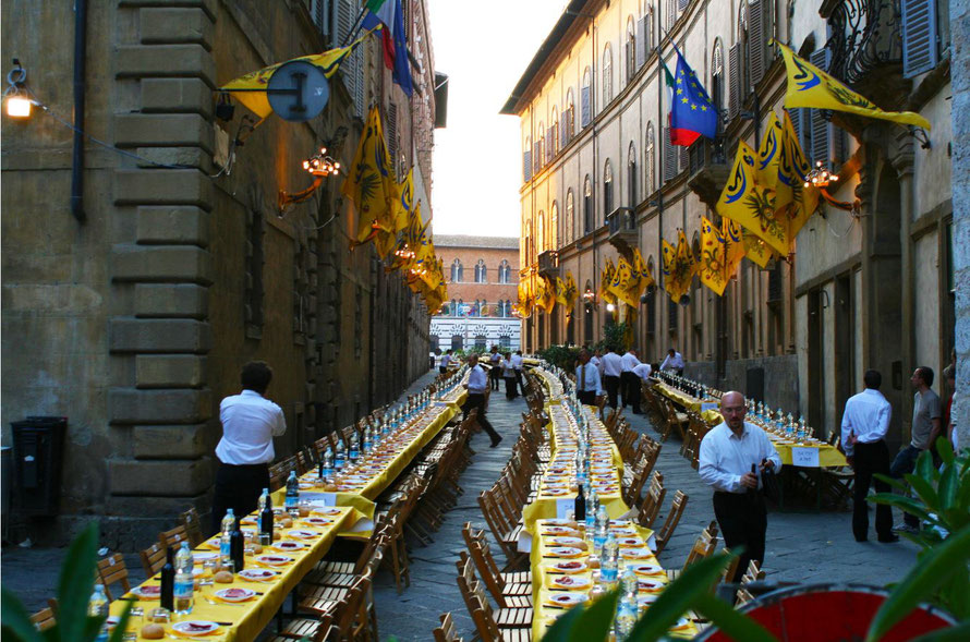 Palio en wijn in Siena