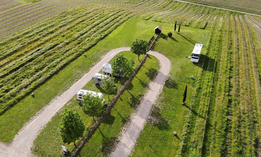 Duitse wijnboeren bieden camperplekken aan